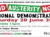 'END AUSTERITY NOW!' DEMONSTRATION Saturday 20th June 2015